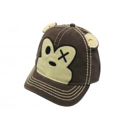 Casquette - Freaks and Friends - Brown Monkey Short Bill