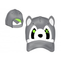 Casquette - Freaks and Friends - Grey Raccoon Cap