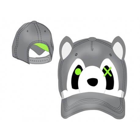 Casquette - Freaks and Friends - Grey Raccoon Cap