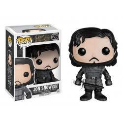 Figurine Game Of Thrones - Jon Snow Castle Black Pop 10cm