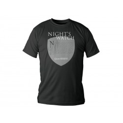 T-Shirt Game of Thrones Night's Watch Ecusson Homme Taille S