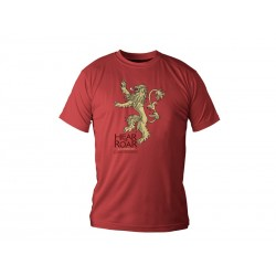 T-Shirt Game of Thrones Lannister Rouge Homme Taille S