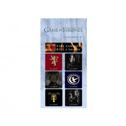 Magnets Game of Thrones - set B