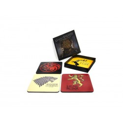 4 Sous Verres Game of Thrones - Set A