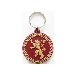 Porte Clé Game Of Thrones - Lannister Gomme 5cm