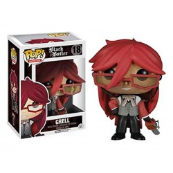 Figurine Black Butler - Grell Pop 10cm