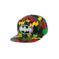 Casquette Batman - Snapback With Flower