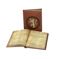 Notebook Game of Thrones - Lannister Lumineux