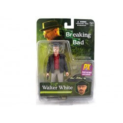 Figurine Breaking Bad - walter White Px Exclusive Red Shirt 15cm