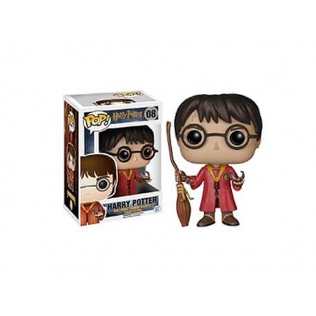 Figurine Harry Potter - Harry Potter Quidditch Exclu Pop 10cm