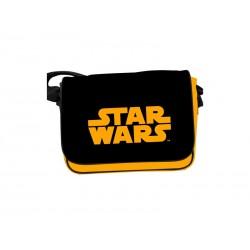 Sac Besace Star Wars - Logo Star Wars Orange
