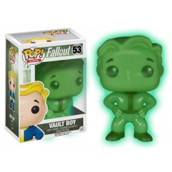 Figurine Fallout - Vault Boy Exclu Glow in the Dark Pop 10cm