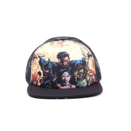 Casquette Justice League - Heroes Snapback