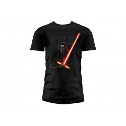 T-Shirt - Star Wars Episode 7- Homme Kylo Ren Lightsaber Taille XL
