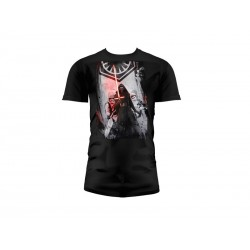 T-Shirt - Star Wars Episode 7- Homme First Order Noir Taille L