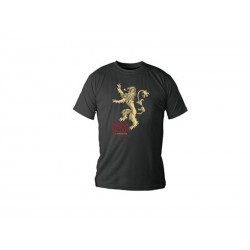 T-Shirt Game of Thrones Lannister Noir Homme Taille S