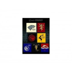 Magnets Game of Thrones - Logo Familles