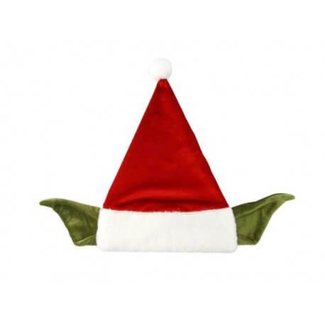 Bonnet Star Wars - Bonnet de Père Noël Yoda Taille Adulte