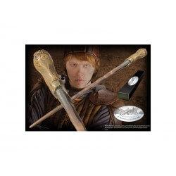 Figurine Harry Potter - Baguette Magique de Ron Weasley 40cm