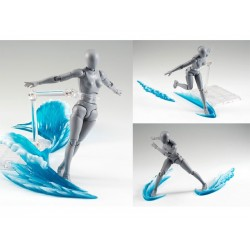 Socle Base Effect Vague Bleue SH Figuarts