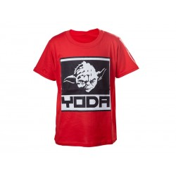 T-Shirt Star Wars - Red Yoda Enfant Taille 6/7 ans