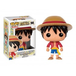 Figurine One Piece - Luffy Pop 10cm