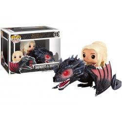 Figurine Game Of Thrones - Daenerys & Drogon Pop Rides 18cm