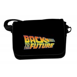 Sac Besace Retour vers Vers Le Futur - Logo 36 x 25cm