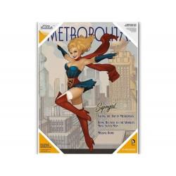 Poster DC Comics Verre Trempé - DC Bombshells Supergirl 30X40cm