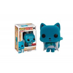 Figurine Fairy Tail - Happy Flocked Exclu Pop 10cm