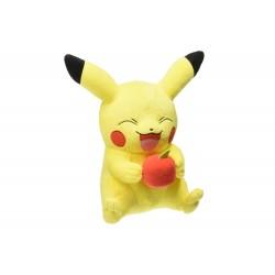 Peluche Pokemon - Pikachu et Pomme 30cm