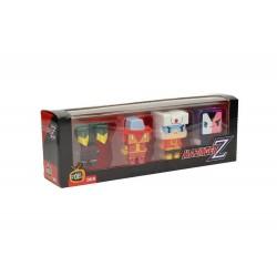 Figurine Mazinger Z - Set 4 figurines 009 Pixel 7cm