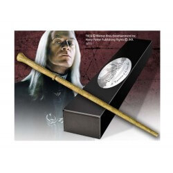 Replique Harry Potter - Baguette Magique Lucius Malfoy (édition personnage) 40cm