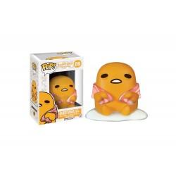 Figurine Gudetama - Gudetama The Lazy Egg With Bacon Pop 10cm