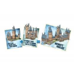 Puzzle 3D Harry Potter - Grande Salle 850 Pièces