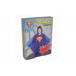 Poncho DC Comics - Superman Taille Unique