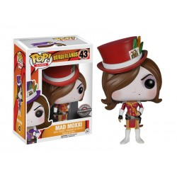 Boite Abimée - Figurine Borderlands - Mad Moxxi Red Outfit Exclu Pop 10cm