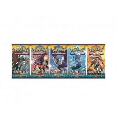 Pokemon - Booster Lune et Soleil - Modele Aleatoire