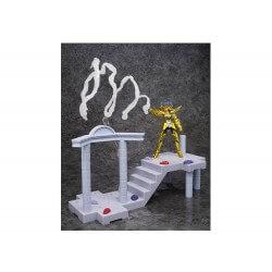 Figurine Saint Seiya DD Panoramation - Deathmask Armure Du Cancer Temple Du Cancer 10cm