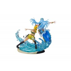 Figurine Tsume Fairy Tail - Lucy Heartfilia et Aquarius Edition Limitée
