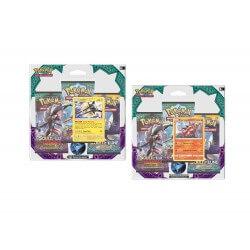 Pokemon - Pack 3 Booster Lune et Soleil 2 + Carte Promo - Modele Aleatoire