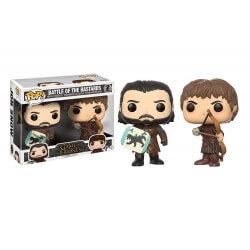Figurine Game Of Thrones - 2-Pack Battle Of The Bastard Exclu Pop 10cm