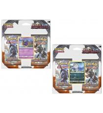 Pokemon - Pack 2 Booster Lune et Soleil 3 + Carte Promo - Modele Aleatoire