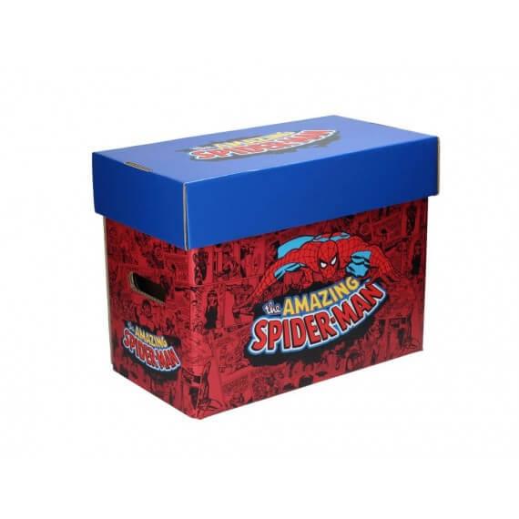 Boite Carton Comic box Marvel collector - Spideman 35 x 19 x30cm