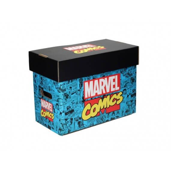 Boite Carton Comic box Marvel collector - Marvel Logo 35 x 19 x30cm