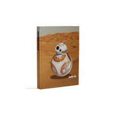 Cahier Sonore Et Lumineux Star Wars - BB-8 Desert Style 15x20cm