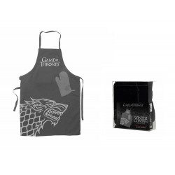 Tablier + Gant De Cuisine Game Of Thrones - Stark