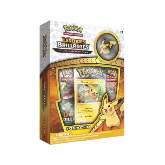 Coffret Pin's Pokemon - Pikachu Soleil et Lune 3