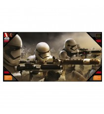 Poster en Verre Star Wars Episode 7- Stormtrooper Battle 60x30cm