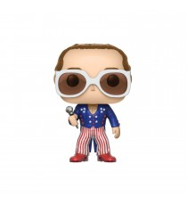 Figurine Musique Rock - Elton John Blue & Red Costume Pop 10cm